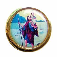 Öntapadós Szent Kristóf érem (képes)