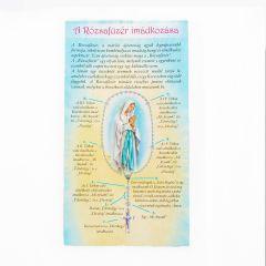 Leporelló, A rózsafüzér imádkozása