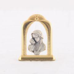Fém oltár (Mária kis Jézussal)