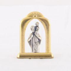 Fém oltár (Szent Kristóf)