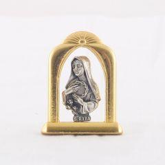 Fém oltár (Szent Rita)