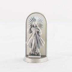 Fém oltár gravírozott betéttel (Irgalmas Jézus)