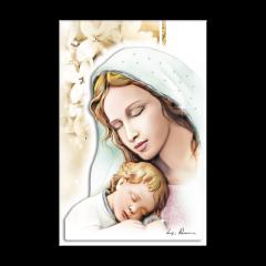 Exkluzív plakett (Mária kis Jézussal)