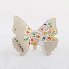 Murano-i üveg pillangó
