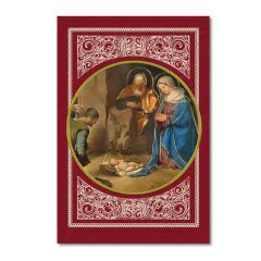 Karácsonyi borítékos képeslap