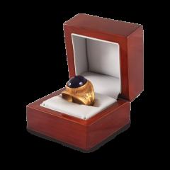 Ezüst gyűrű (Ametista)