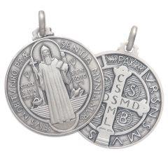 Ezüst medál (Szent Benedek)