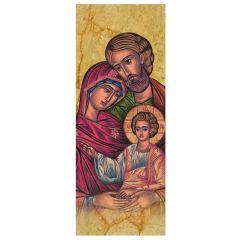 Aranyozott könyvjelző, Szent Család (ikon)