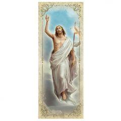 Aranyozott könyvjelző, Feltámadt Krisztus