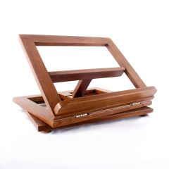 Forgatható fa misekönyvtartó