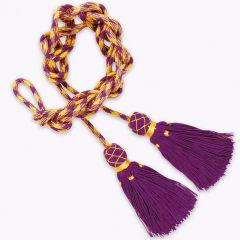 Aranyszálas viszkóz cingulus lila színben