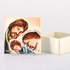Ékszertartó doboz, Szent Család
