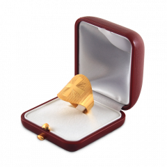 Ezüst gyűrű (Croce oro)