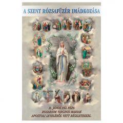 Imafüzet, A szent rózsafüzér imádkozása