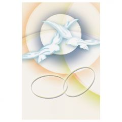 Aranyozott emléklap házasságkötésre