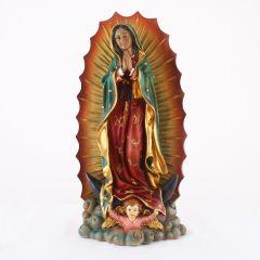 Műgyanta szobor, Guadalupe-i Szűzanya