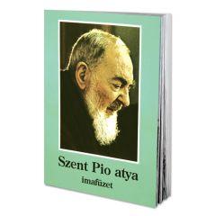 Imafüzet, Szent Pió atya