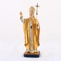 Műgyanta szobor, II. János Pál pápa