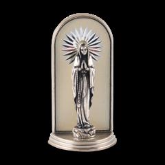 Mini oltár gravírozott betéttel (Lourdes-i Szűzanya)