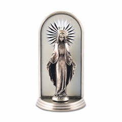 Mini oltár gravírozott betéttel (Segítő Szűzanya)