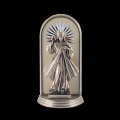 Mini oltár gravírozott betéttel (Irgalmas Jézus)