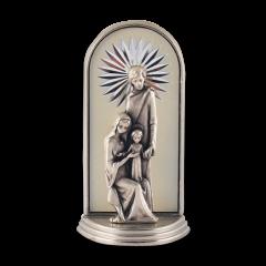 Mini oltár gravírozott betéttel (Szent Család)