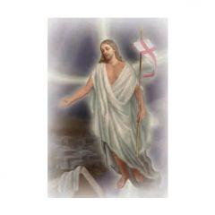 Aranyozott mini szentkép, Feltámadt Krisztus
