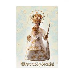Aranyozott mini szentkép, Mátraverebély-Szentkút