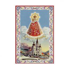 Aranyozott mini szentkép, Mariazell