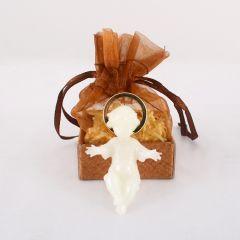 Kis Jézus jászollal, díszdobozban (világítós)