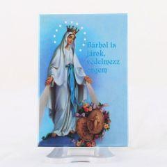 Hűtőmágnes Csodás Szűzanya képpel