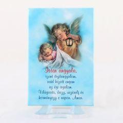 Hűtőmágnes angyalos képpel