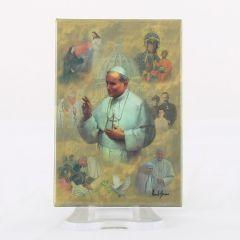 Hűtőmágnes II. János Pál pápa képpel