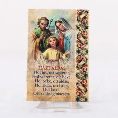 Hűtőmágnes Szent Család képpel (Házi áldás)