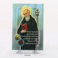 Hűtőmágnes Szent Benedek képpel