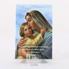 Hűtőmágnes Mária kis Jézussal képpel