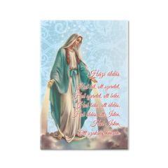 Hűtőmágnes Csodás Szűzanya képpel (Házi áldás)
