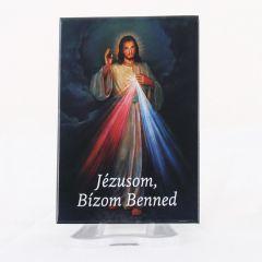 Hűtőmágnes Irgalmas Jézus képpel