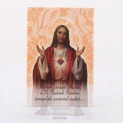 Hűtőmágnes Jézus szíve képpel