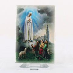 Hűtőmágnes Lourdes-i Szűzanya képpel