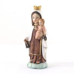 Műgyanta szobor, Kármelhegyi Szűzanya