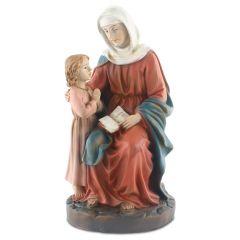 Műgyanta szobor (Szent Anna)