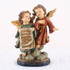 Angyalka műgyanta szobor (talpas)