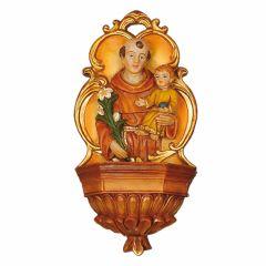 Műgyanta szenteltvíztartó, Szent Antal