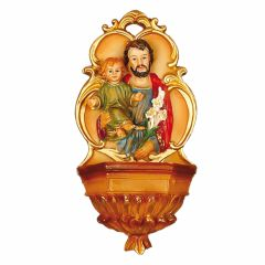 Műgyanta szenteltvíztartó, Szent József