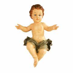 Műgyanta szobor, kis Jézus