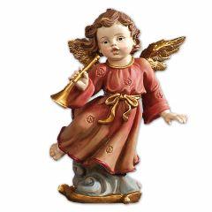 Műgyanta szobor, angyalka (talpas)