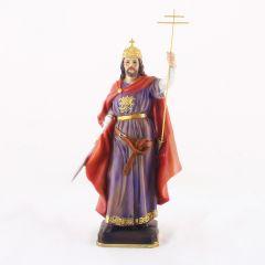 Műgyanta szobor (Szent István)