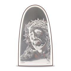 Faplakett ezüst betéttel - Cupola (Krisztus)