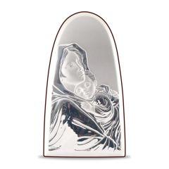 Faplakett ezüst betéttel - Cupola (Ferruzzi)